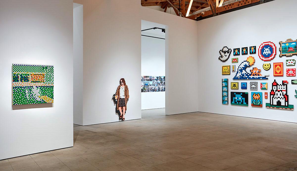 インベーダーのロサンゼルスでの個展